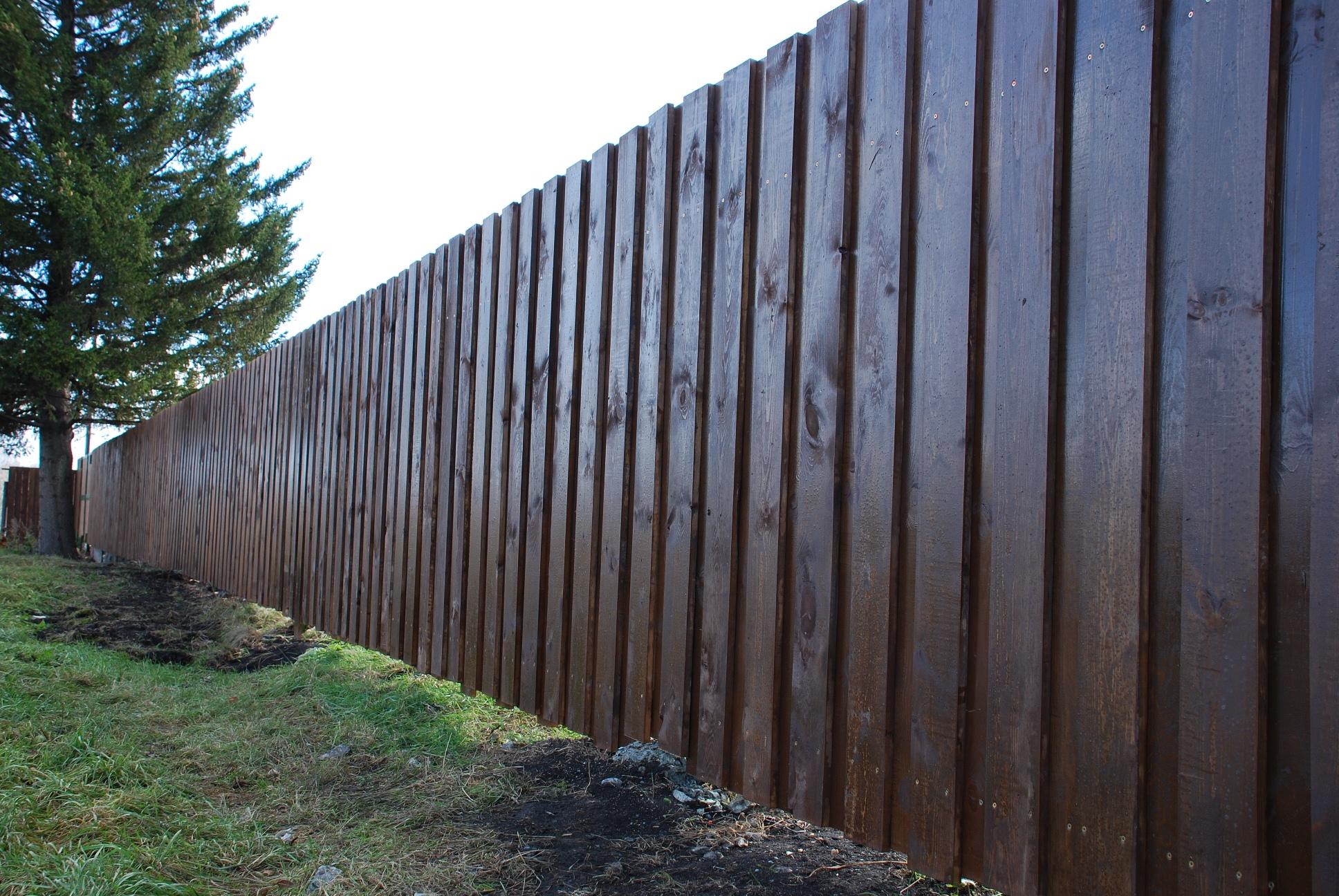 какого цвета покрасить деревянный забор фото вызывает восторг